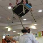 pr Purim balance act