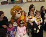 pr Purim group w bear