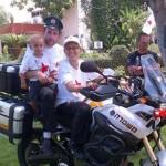 pr cancer support summer camp 2013 Policeman Day