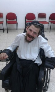 pr Daniel MIzrachi seated