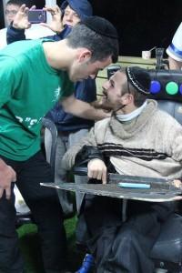 pr spec CP Daniel Mizrachi at 2015 Chanukah party