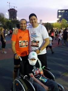 pr canc sup Harel  - Keep Running  father and may9or of Petach Tikva-